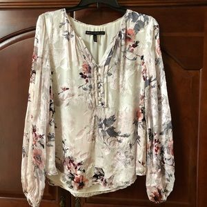 WHBM long sleeve blouse. Size 10.